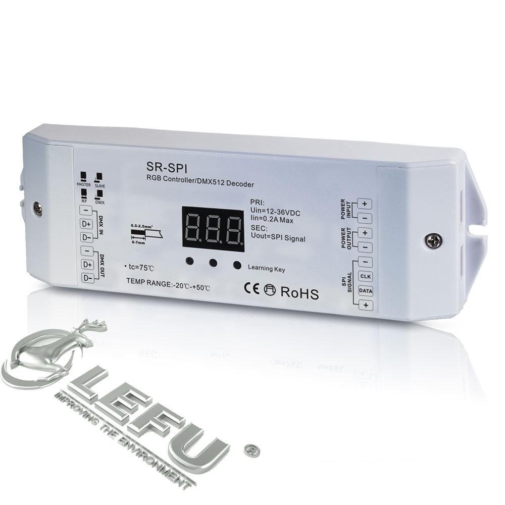 5-36vdc,Dmx Led Digital Controller.spi Signal,Compatible 36 Types ...