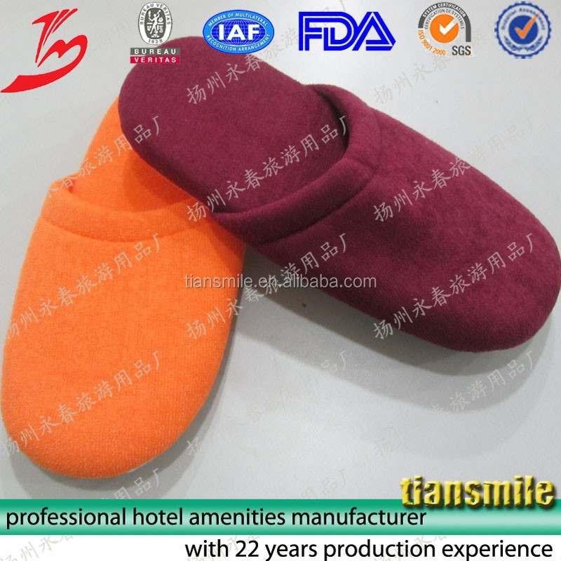 disposable slippers hotel cork sole slipper