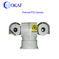 Intelligent Vehicle mounted Infrared IR high speed thermal camera Imaging Laser PTZ Camera
