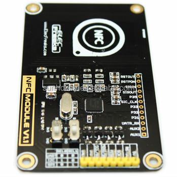13 56mhz Nfc / Rfid Module Pn532 Development Board W/ Pcb Antenna / Cipher  Key - Buy Nfc / Rfid Module,Nfc / Rfid Module Pn532,Nfc / Rfid Module Pn532