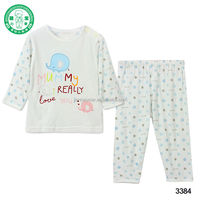 No.3384 High quality blank design wholesale price baby clothes from China