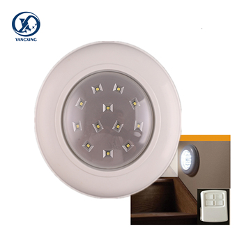 2019 Low Price Cordless Ceiling Wall Light With Remote Control Light Switch for Promotion passed CE RoHS FCC