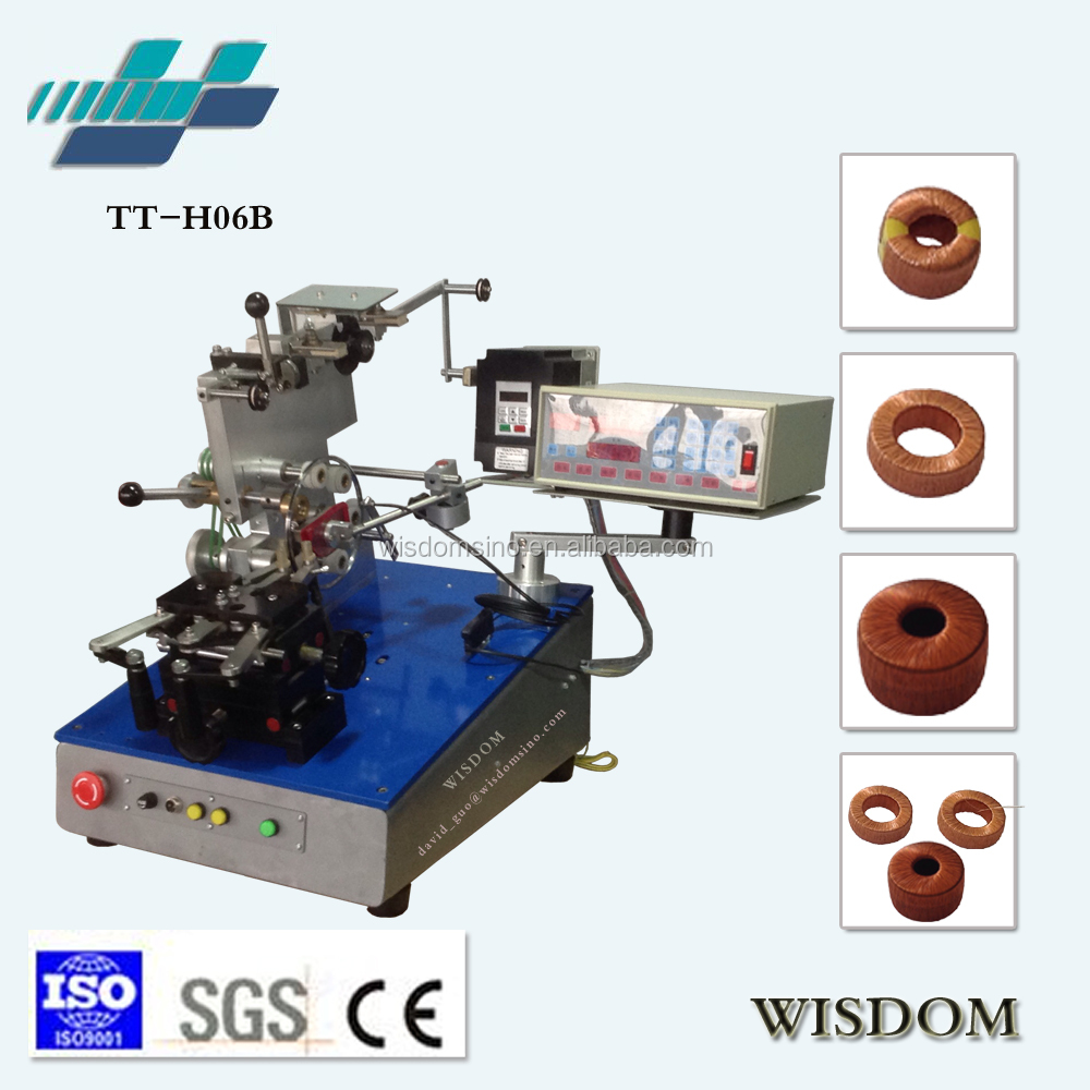 TT-H06B High quality automatic Toroidal core transformer winding machine