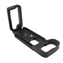 A7M3/A7R3/A9 L-vormige metalen verticale shoot quick release plate adapter L beugel plaat <span class=keywords><strong>statief</strong></span> mount voor sony camera