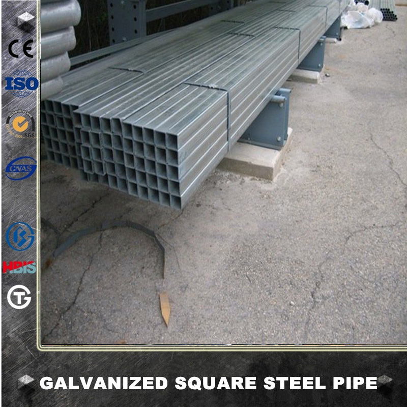 EN 10219 S275 S355 mild carbon erw welded square steel pipe