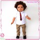 Most popular in 2017 male fashion boy doll with Afro hair