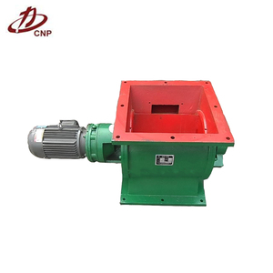 Rotary Discharge Valve Device for Plastic