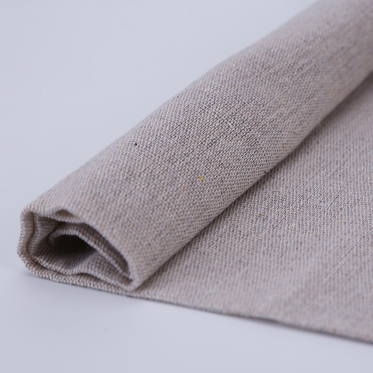 Free sample Custom Recycled Cloth Names Of Polyester Cotton Material plain weave lines Fabric
