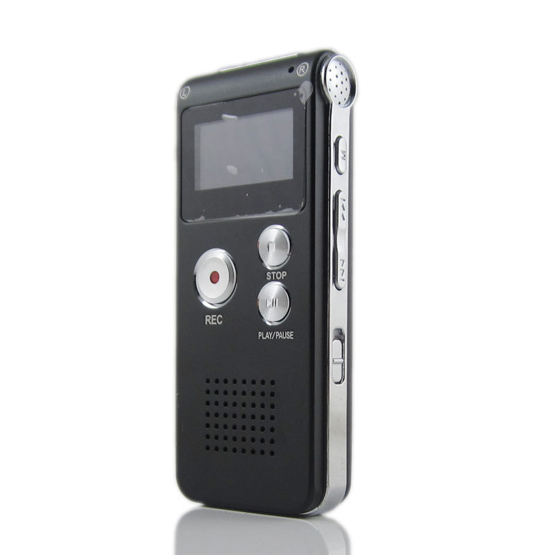 Multifunzionale Ricaricabile 4 GB Digital Audio Dittafono MP3 Player digital voice recorder