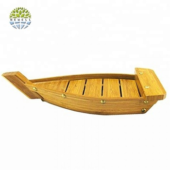 Factory direct sale bamboo sushi boats mat For Restaurant