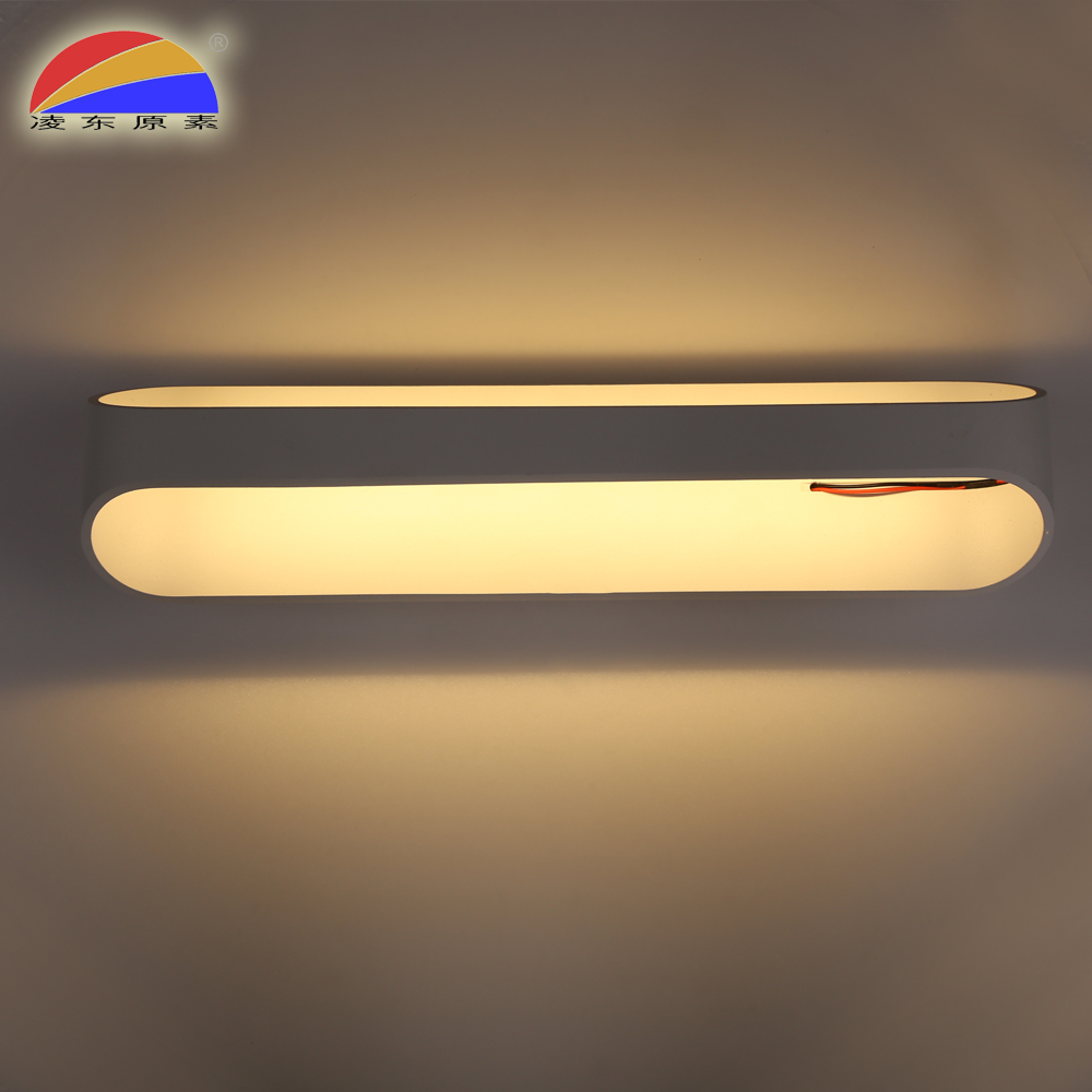 Alloy body 15W led wall sconce with power outlet for indoor applicable