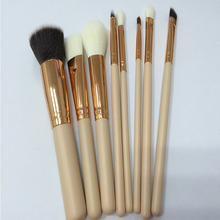 8Pcs Private Label Cosmetic Makeup Brush Set With Goat Hair