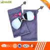 New Camping microfiber pouch glass case with low price