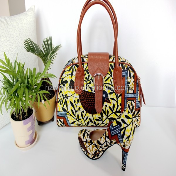 ankara bags shoes match to and wax African qEW15I