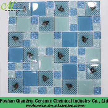 Chi Phí Thấp 3d Blue Vẽ Tranh Kính Mosaique Piscine Brico Depot Buy Gooday Home Depot Gooday Home Depot Sản Phẩm Crackle Glass Mosaic Tile Product