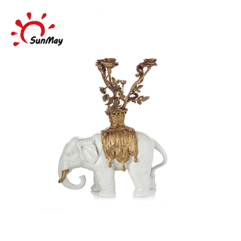 Custom China wholesale resin elephant figurines for sale
