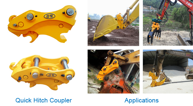 Excavator Quick Hitch