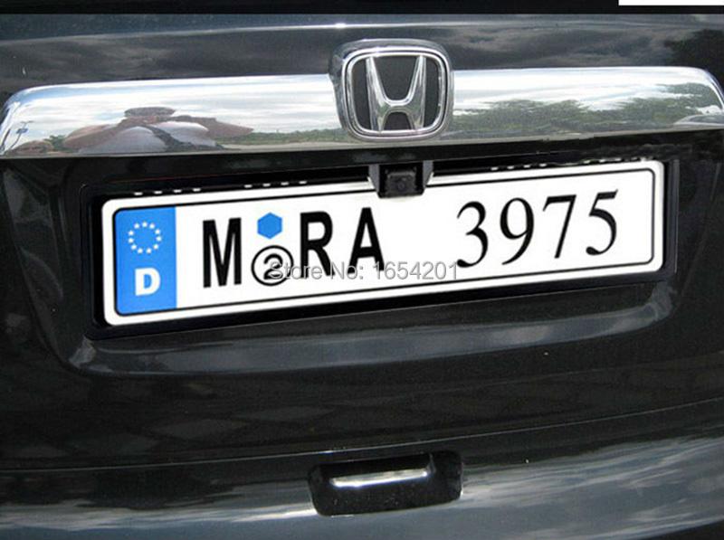 2019 Hd Europe Car License Plate Camera Universal Car Rear View