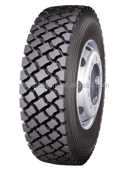 waystone LONGMARCH TRIE 11r22.5 11r24.5 truck tire / ON/OFF ROAD DRIVE AXLE TRACION