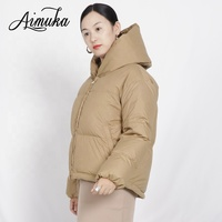 Thicken High Quality Women Winter Duck Down Jacket