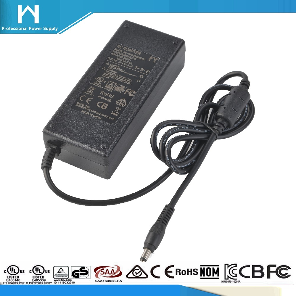 CCC PSE KC UL Argentina S-mark IRAM power adaptor safety mark 9Vdc 6amp ac dc adaptor 9V 6a