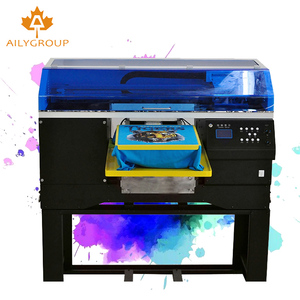 High print speed double 5113 heads dtg printer for t-shirt with white color