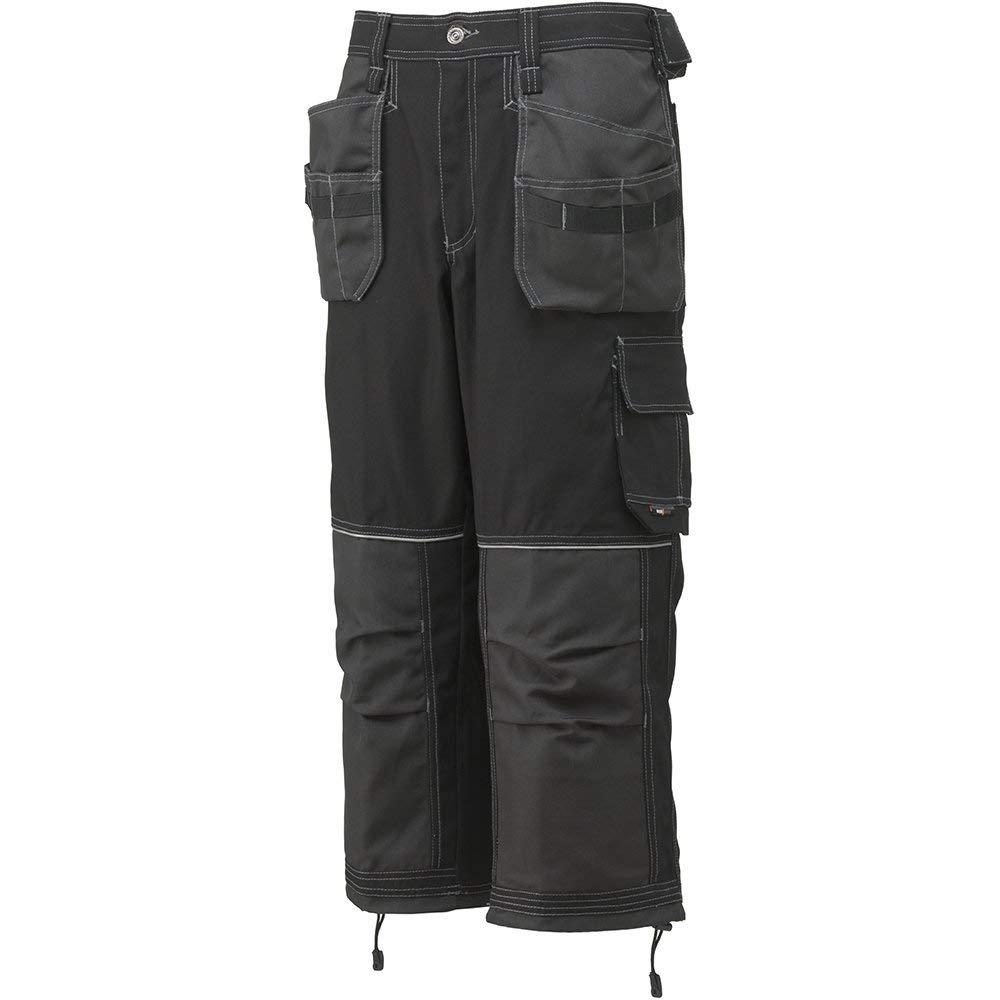 024d568f84 Get Quotations · Helly Hansen 76442_999-C58 Chelsea Pirate Pants, C58,  Black/Charcoal