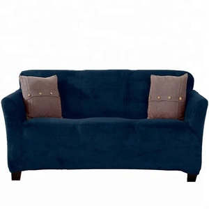 Modern Velvet Plush Slipcover Stylish Sofa Cover Slipcover