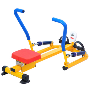 Kids outdoor rower machine children gym fitness equipment
