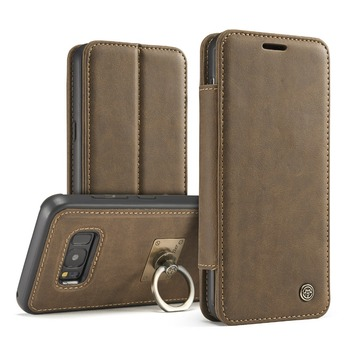 Genuine Leather Wallet Case For Samsung Galaxy S8 S8 Plus S7 S6 Edge Wallet Card Slots Luxury Phone Bag Pouch Cases
