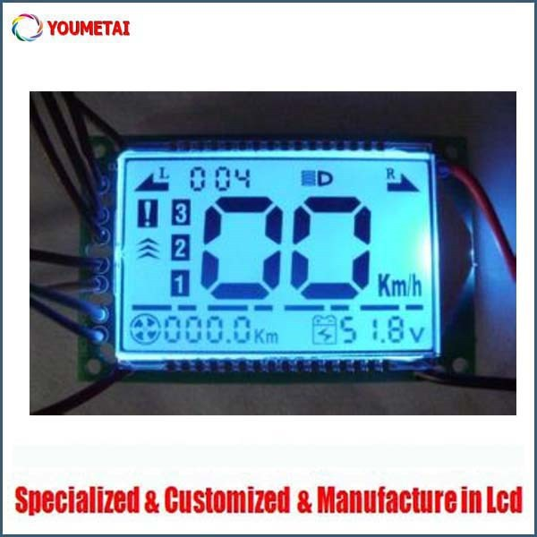 digital lcd display speedometer customized
