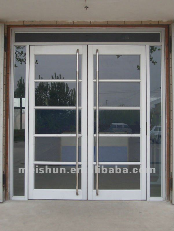 Aluminum frame glass door used commercial ms 1102 in doors - Commercial aluminum exterior doors ...
