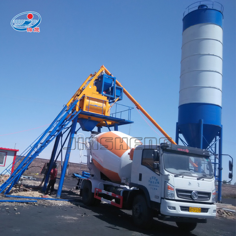China professionele beton machine HZS25 stationaire betoncentrale specificatie