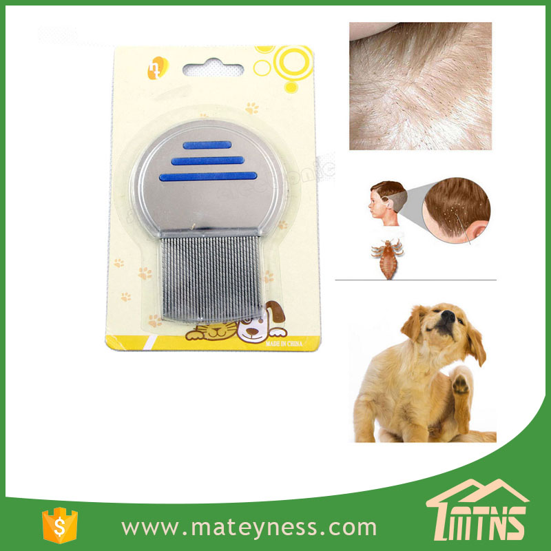 pet stainless steel head lice comb