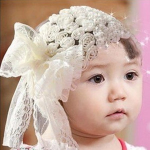2016 best deal Exaggerated Large Knot Head Band girls white headband PHotography Headbands accessoire cheveux # wholesale