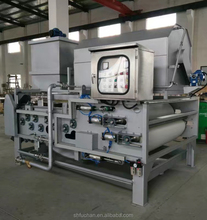 China supplier belt filter press in sludge dewatering device and concentration of sewage treatment . (FTB -1000)