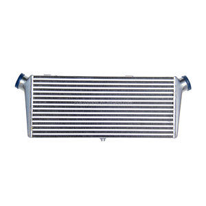 Ec Universal Front Mount Tube Fin 600X280X70 Intercooler 2.5 Inletoutlet