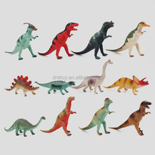 OEM hot sale PVC 3D vinyl dinosaur figurine grabber toys for kids