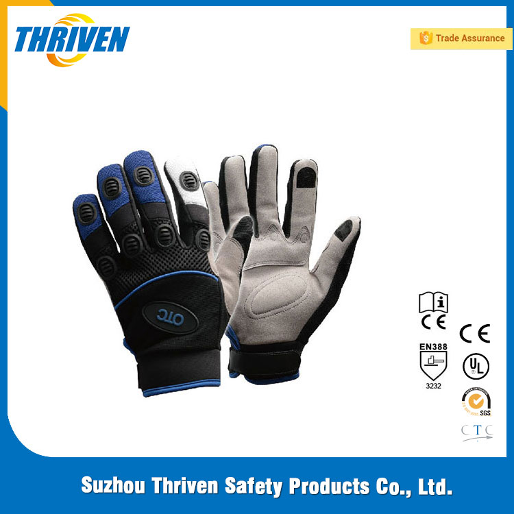 Mechanical Glove With Touch Sreen Fabric Glove