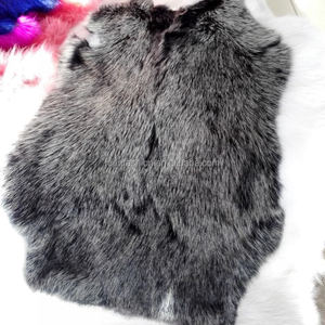 Hot SellingTanned High Quality Genuine Rabbit Fur for Women Winter Coat&Jacket&Vest with Factory Price