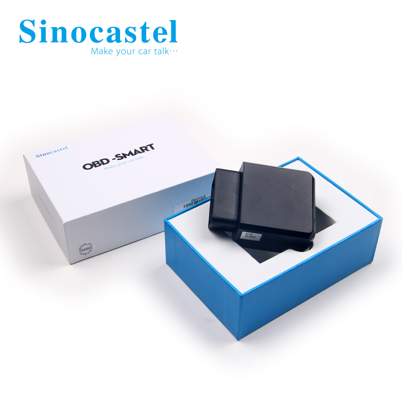 New design small 2G GSM <strong>sim</strong> card vehicle GPS Tracker OBD2 smart gps