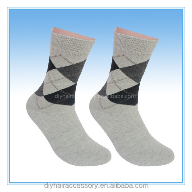 2016 Hot Sale Winter Autumn Warm Mens Designer Dress Socks New Stripe Dos Star Argyle Color Fashion Leg Warmers
