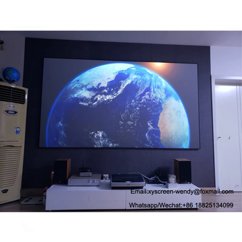 Xgimi Lune 4k Projector 3d Home Made Theater Movie Video Ust Projector  Screen 100~120 Inches 16:9 - Buy Home Theater Projector Screen,Ust  Projector