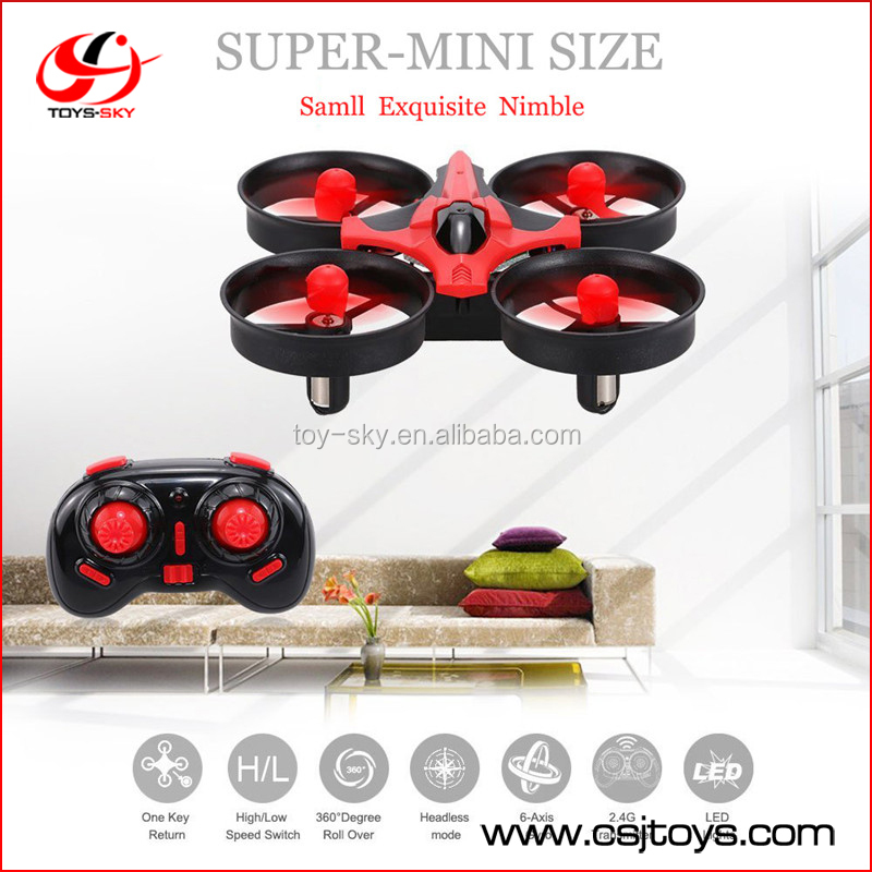 Mini NH-010 Drone 2.4G 6CH 6 Axis 360 Flips Headless Mode Nano Quadcopter JJRC H36 DRONE