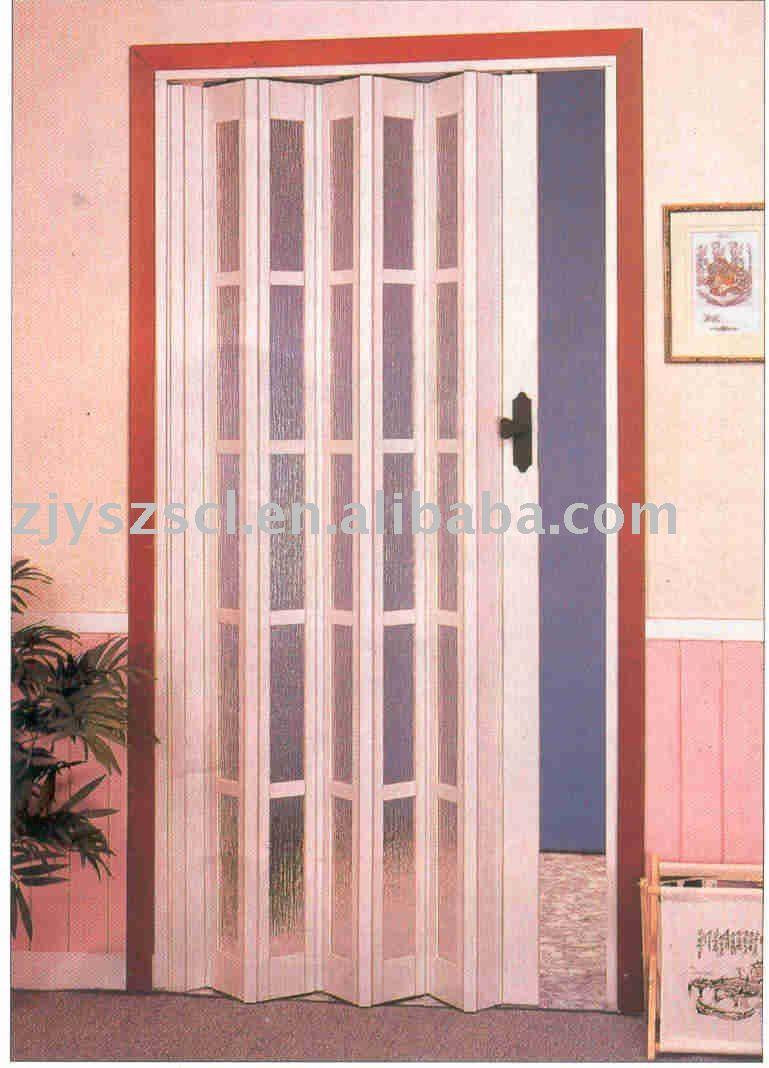 Porta Sanfonada De Pvc E Accordition Porta Para O Quarto Interior  ~ Porta Sanfonada Para Cozinha