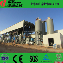 China advanced Technology and on-site installation type paper faced gypsum board making machine