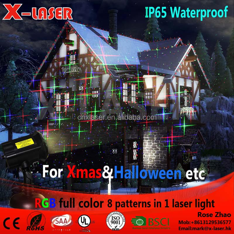 Wireless Remote Control 12V Holiday Party Light RGB Mini Outdoor Laser Project Christmas