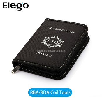 Elego rba/rda tool kit for rda/rba atomizer inculding coil jig atomizer base Tweezer Clipper a1 wire