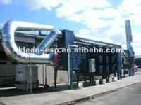 Electrostatic Exhaust Gas Scrubber For Industrial Air Cleaning ...