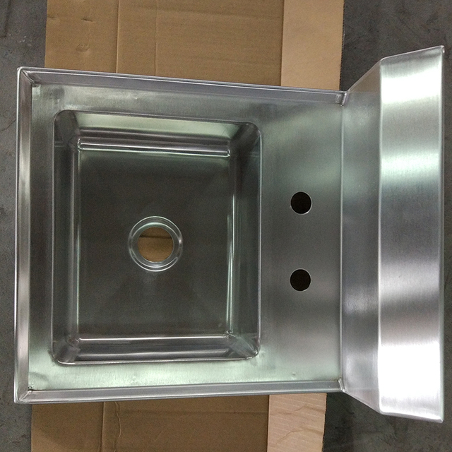Factory Supply Stainless Steel Commercial Kitchen Sink With High Performance